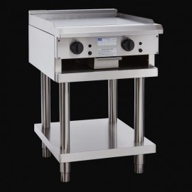 Luus CS-6P-T 600mm Teppanyaki Grill with legs & shelf