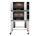 Turbofan E27T3 - Full Size Electric Convection Ovens Touch Screen Control Double Stacked