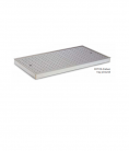 Roband ECT22 - Chicken tray including bottom drip tray and removable perforated insert