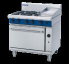 Blue Seal Evolution Series G506C - 900mm Gas Range Static Oven