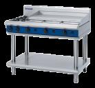 Blue Seal G518A-LS 2 Burner, 900mm Griddle Plate Gas Cooktop - Leg Stand
