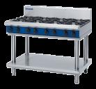 Blue Seal G518D-LS 8 Burner Gas Cooktop - Leg Stand