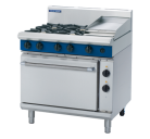 Blue Seal Evolution Series GE506C - 900mm Gas Range Electric Static Oven