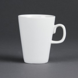 Olympia Whiteware Latte Mugs 310ml