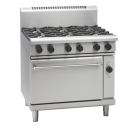 Waldorf 800 Series RN8610GEC - 900mm Gas Range Electric Convection Oven