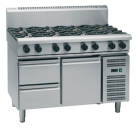 Waldorf 800 Series RNL8803G-RB - 1200mm Gas Cooktop Low Back Version Refrigerated Base