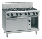 Waldorf 800 Series RNL8816G - 1200mm Gas Range Static Oven Low Back Version