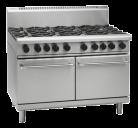 Waldorf 800 Series RNL8823G - 1200mm Gas Range Static Oven Low Back Version
