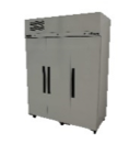Williams HRS3SDSS Ruby Star Three Solid Door Stainless Steel Refrigerator