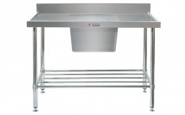 Simply Stainless SS05.1200.C Sink Bench with Splashback