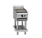 Waldorf 800 Series CHL8120G-CB - 1200mm Gas Chargrill Low Back Version - Cabinet Base