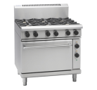 Waldorf 800 Series RN8619GE - 900mm Gas Range Electric Static Oven